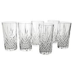 luminarc longdrinkglas 'eugene' (set van 6) wit