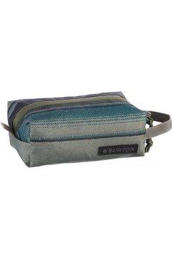 burton toilettas, »accessory case, tusk stripe print« blauw