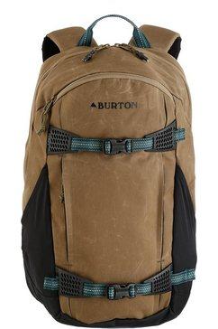 burton rugzak met laptop- en tabletvak, »day hiker, hickory coated« bruin