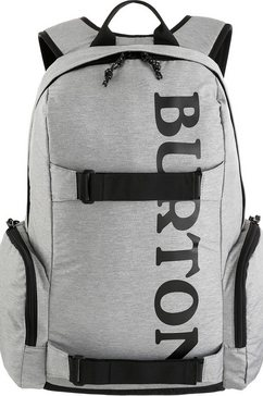burton rugzak met laptopvak, »emphasis, grey heather« grijs