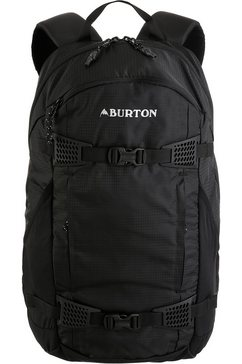 burton rugzak met laptop- en tabletvak, »day hiker, true black ripstop« zwart
