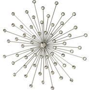 boltze sierobject voor aan de wand »space« zilver