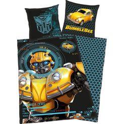 transformers kinderovertrekset »bumblebee« zwart