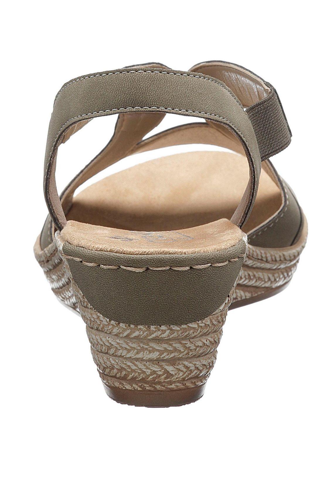 Rieker sandaaltjes in de online shop  kaki
