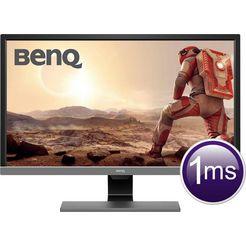 benq »el2870u« ledmonitor (28 inch, 3840 x 2160 pixels, 4k ultra hd, 1 ms reactietijd) zwart