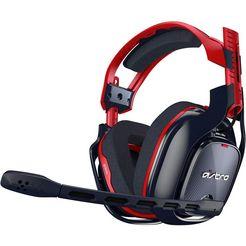 astro »gaming a40 tr 10th anniversary edition voor pc« gaming-headset (bedraad, ruisonderdrukking) zwart