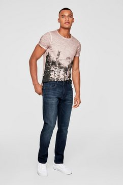 q-s designed by rick slim: stretchjeans blauw