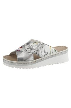 rieker slippers zilver