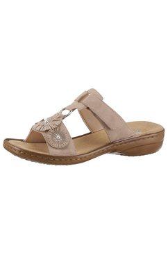 rieker slippers beige