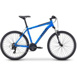 fuji bikes mountainbike »nevada 26 1.9 v«, shimano tourney, 21 versn. schakelsysteem, derailleur blauw