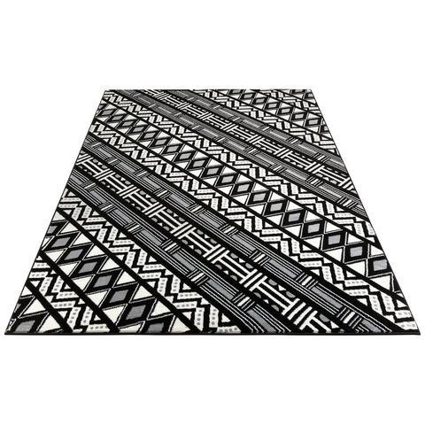 Vloerkleed, Amon, my home Selection, rechthoekig, hoogte 11 mm, machinaal geweven