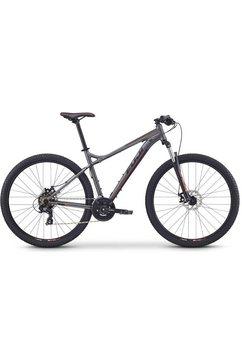 fuji bikes mountainbike »nevada 29 1.9«, shimano tourney 21 versnellingen schakelsysteem, derailleur grijs