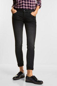 street one loose fit jeans zwart