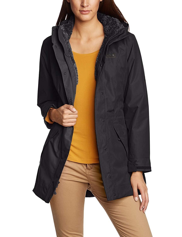 jack wolfskin coat 5th avenue coat snel online gekocht. Black Bedroom Furniture Sets. Home Design Ideas