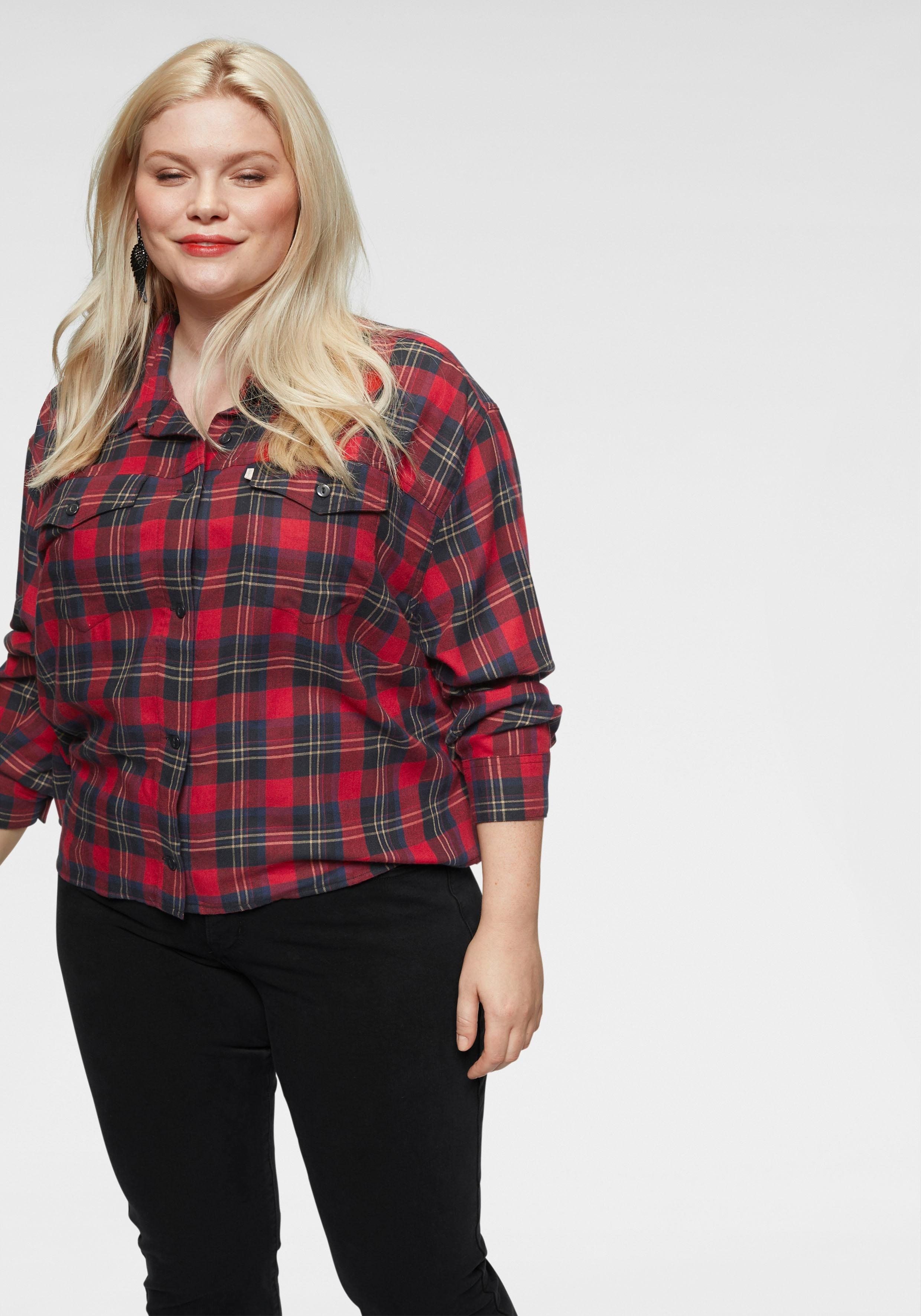 Geruite Levi's® Online Ash Blouseplus shirt Verkrijgbaar Plus l1TFKcJ