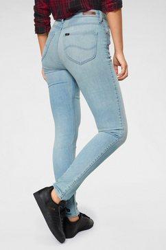 lee skinny jeans »scarlett« blau