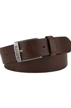 levi's leren riem new duncan belt bruin