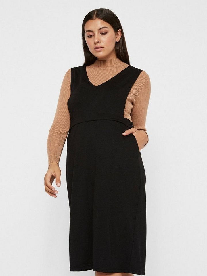 Junarose Shaped fit jurk zwart