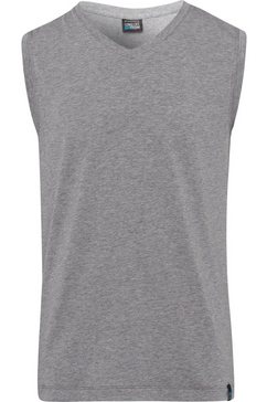 schiesser muscle-shirt »long life cotton« grijs