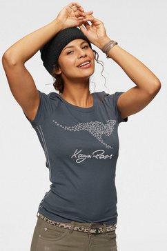 kangaroos t-shirt grijs