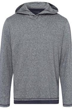 schiesser shirt met lange mouwen »mix  relax« grijs