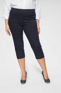 raphaela by brax capri jeans »carolina« blauw