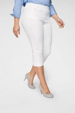 raphaela by brax capri jeans »pamoma« wit
