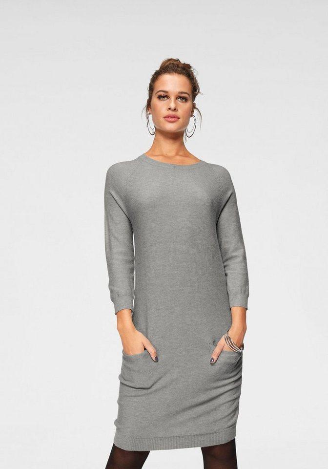 Vero Moda tricotjurk GALTINE grijs
