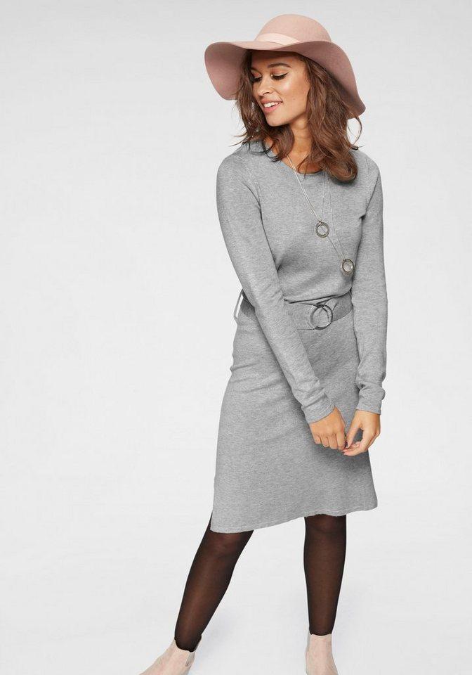 Vero Moda tricotjurk SIDSE grijs