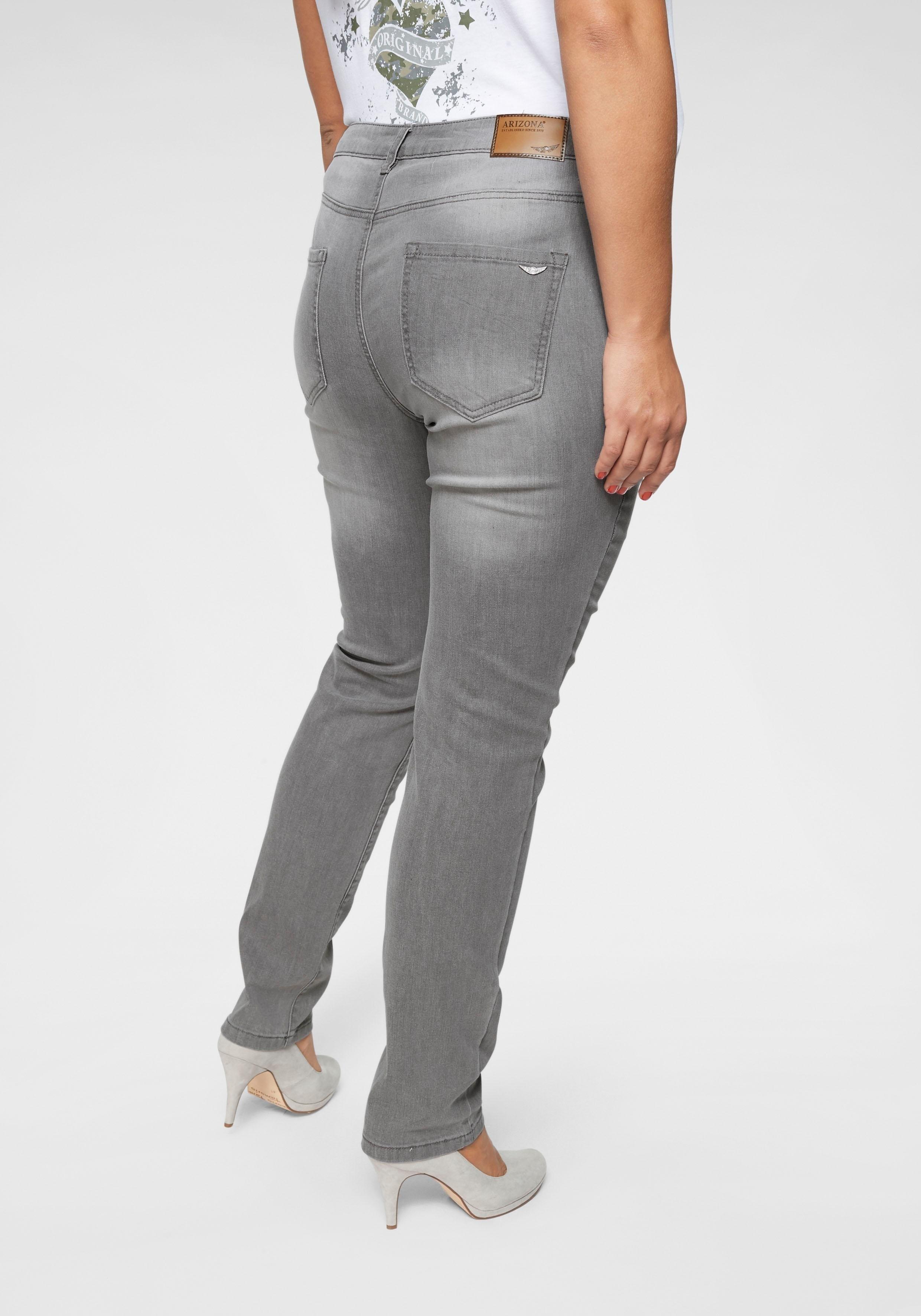 Arizona Slim fit jeans Curve-Collection High Waist online kopen op otto.nl