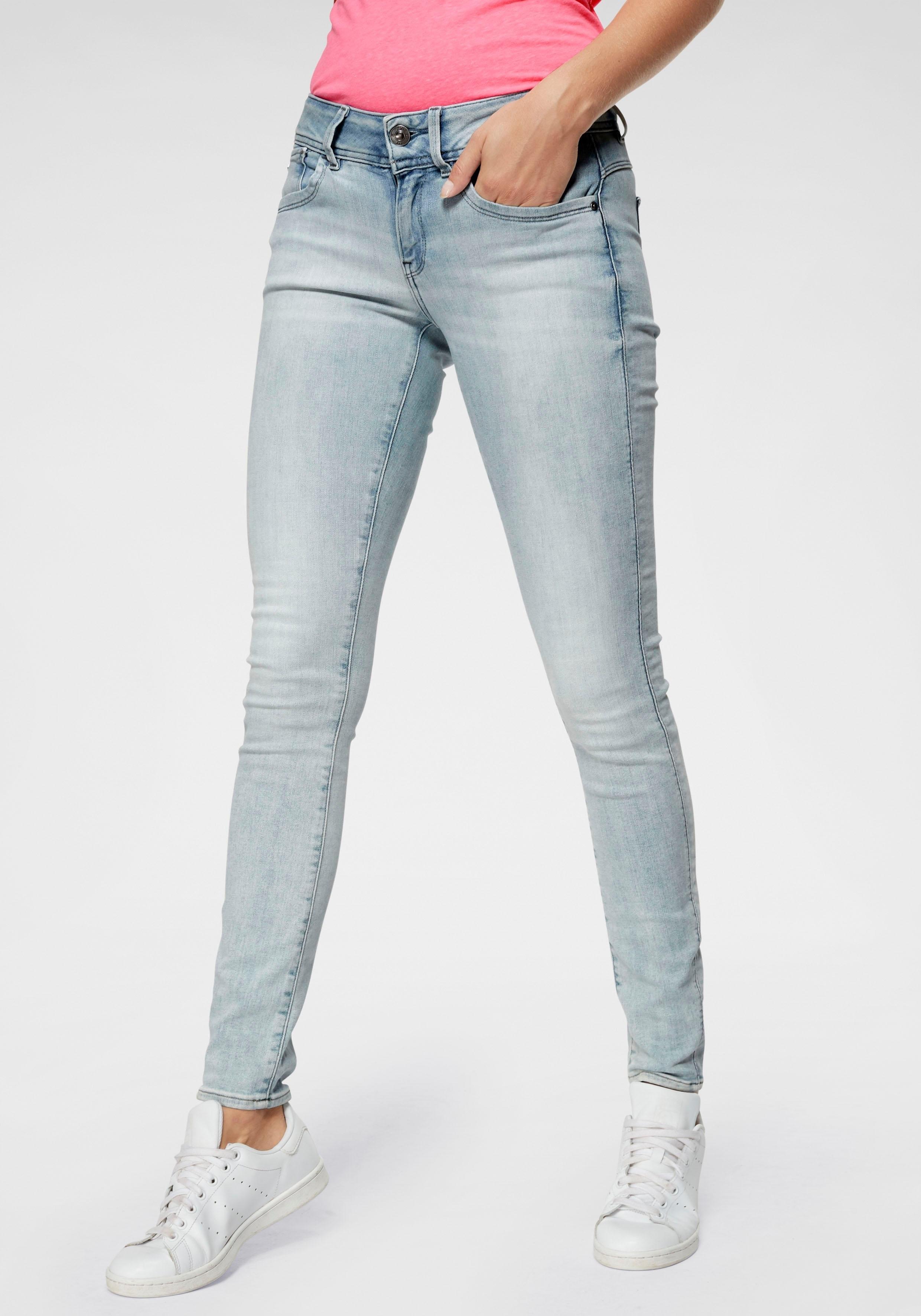 e53710719061eb G-Star RAW skinny fit jeans »Lynn Mid Skinny wmn NEW« in de online ...