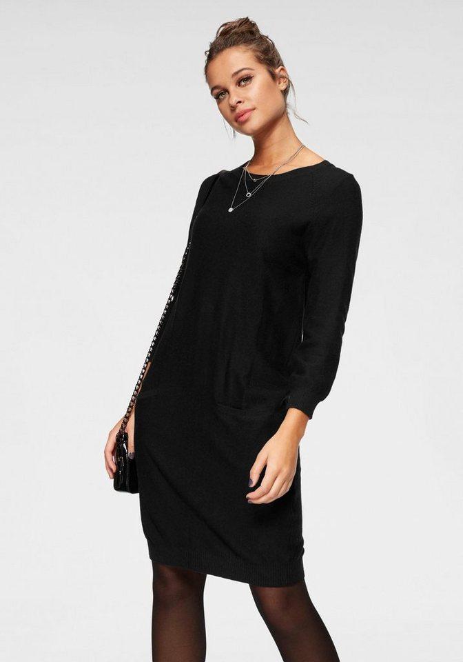Vero Moda tricotjurk GALTINE zwart