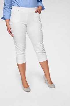 raphaela by brax capri jeans »carolina« wit
