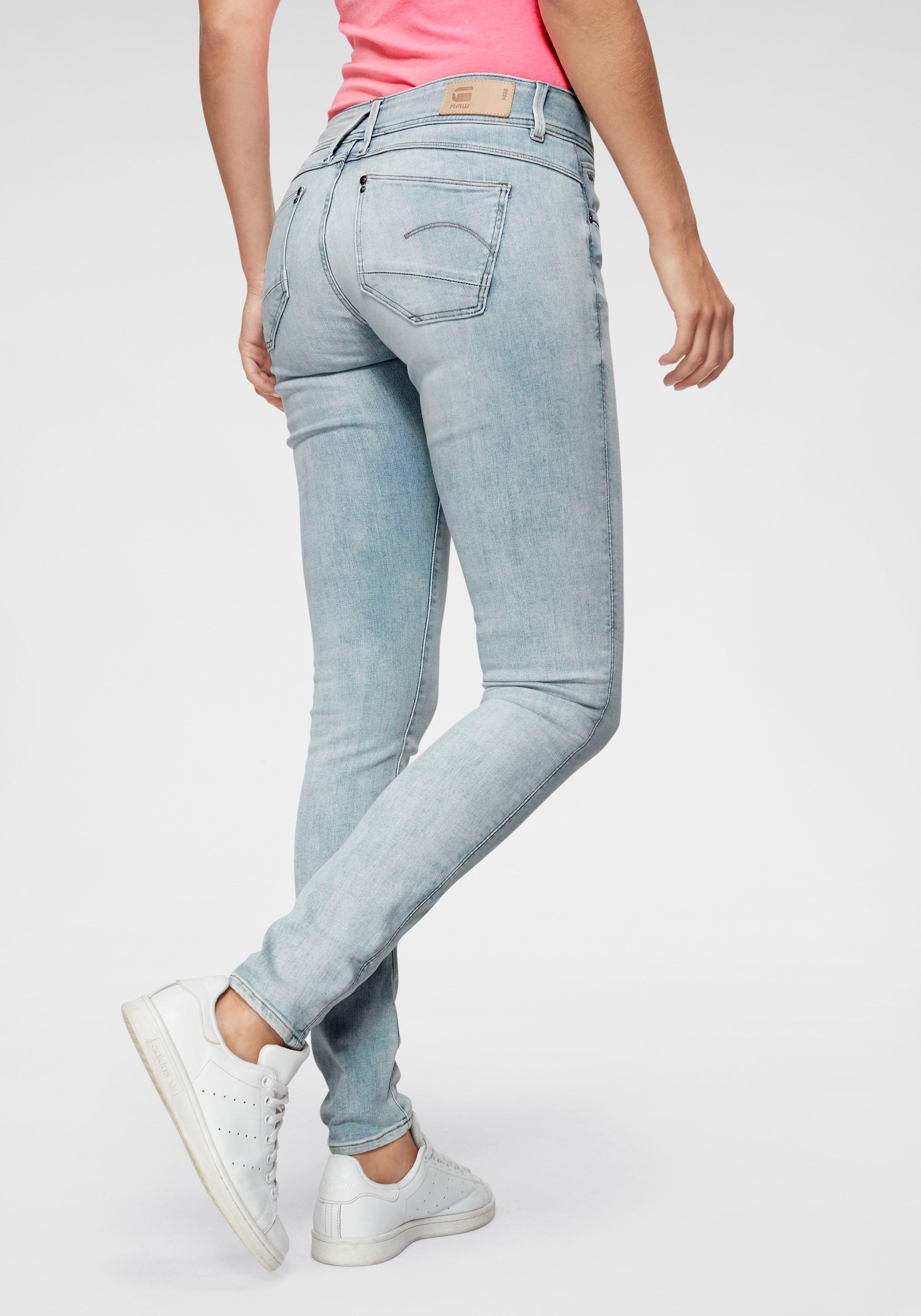 90c077b6baaa7b Afbeeldingsbron: G-Star RAW skinny fit jeans »Lynn Mid Skinny wmn NEW«