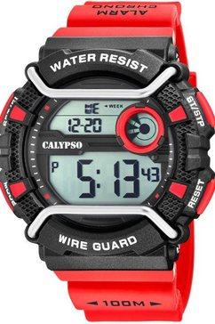 calypso watches digitaal horloge »x-trem, k5764-2« rood
