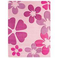 vloerkleed voor de kinderkamer, »flair«, luxor living, rechthoekig, hoogte 15 mm, machinaal geweven roze