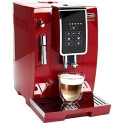 de'longhi volautomatisch koffiezetapparaat dinamica ecam 358.15.r, sensor-bedieningspaneel rood