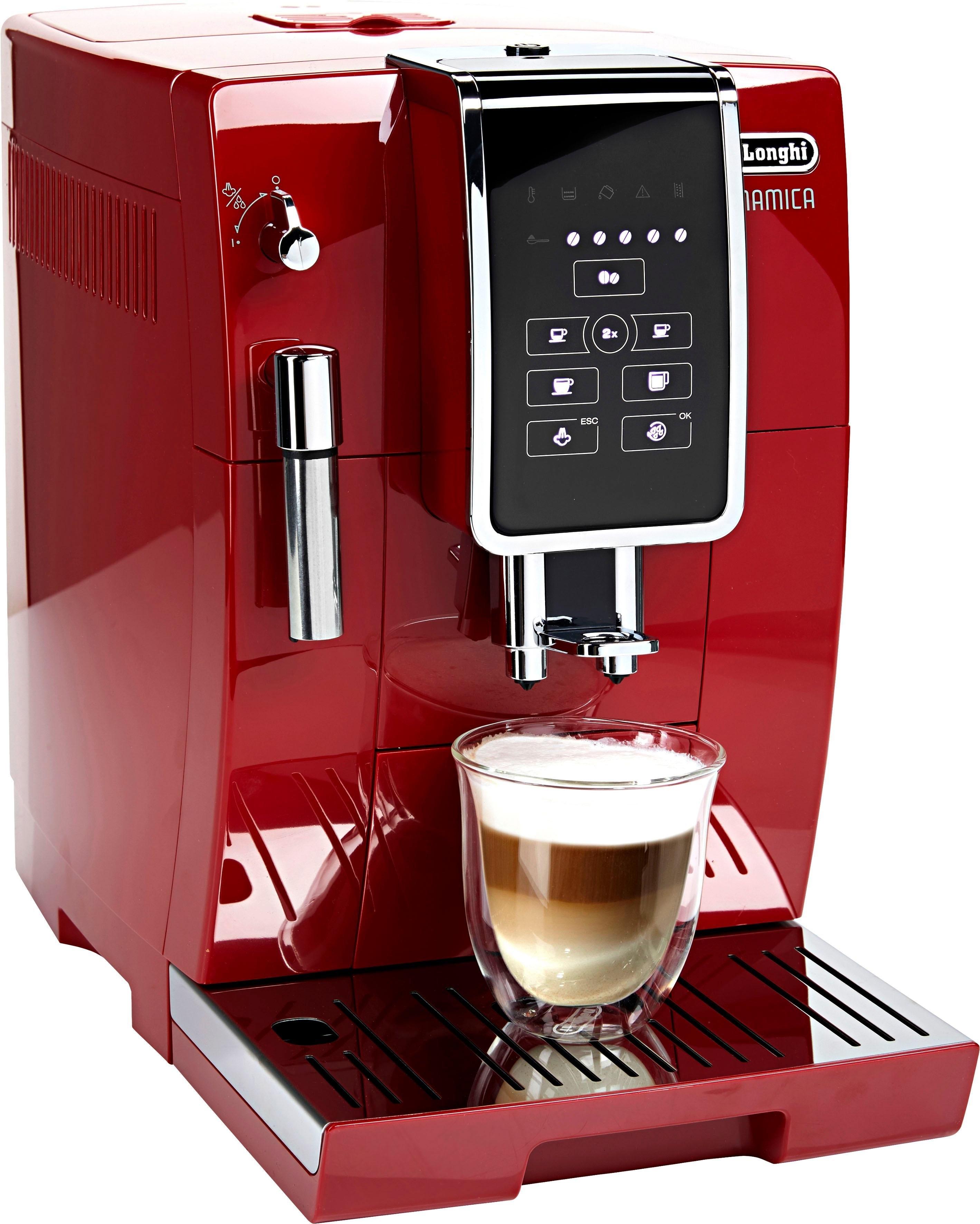Op zoek naar een De'longhi DELONGHI volautomatisch koffiezetapparaat Dinamica ECAM358.15.R, 1,8l reservoir, kegelmaalwerk? Koop online bij OTTO