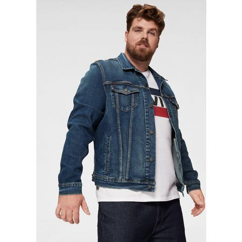 NU 15% KORTING: Levi's Big and Tall jeansjack TRUCKER BIG & TALL