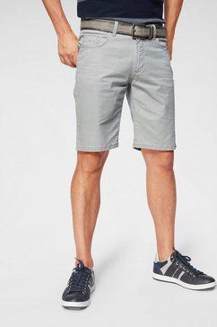 pioneer authentic jeans short grijs
