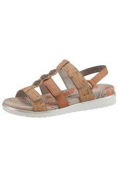 rieker sandalen bruin
