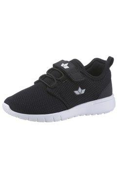 lico sneakers pancho met klittenbandsluiting en elastische bandjes zwart