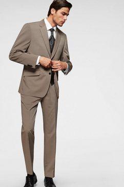 class international 4-delig kostuum bruin