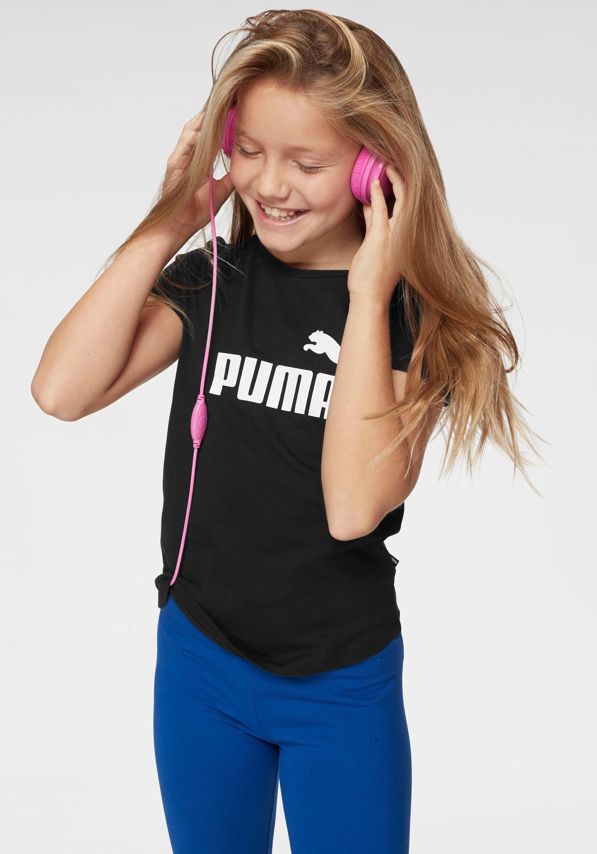 Puma T-shirt »ESSENTIAL TEE GIRLS« online kopen op otto.nl