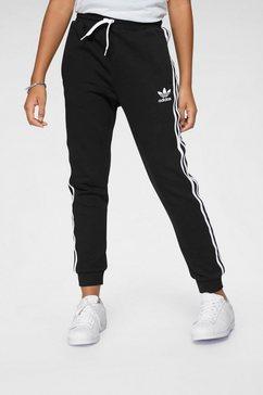 adidas originals joggingbroek »trefoil pants« zwart