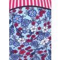 s.oliver beachwear bandeaubikinitop »jill« blauw