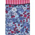 s.oliver red label beachwear bikinibroekje jill met bindstrikjes opzij blauw