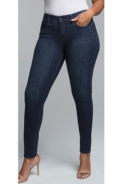 nydj boost skinny »in curves 360 denim« blauw