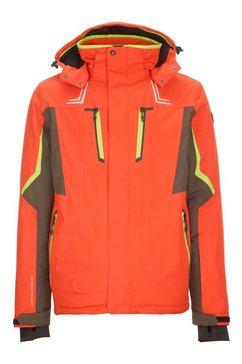 killtec ski-jack »ullio« oranje