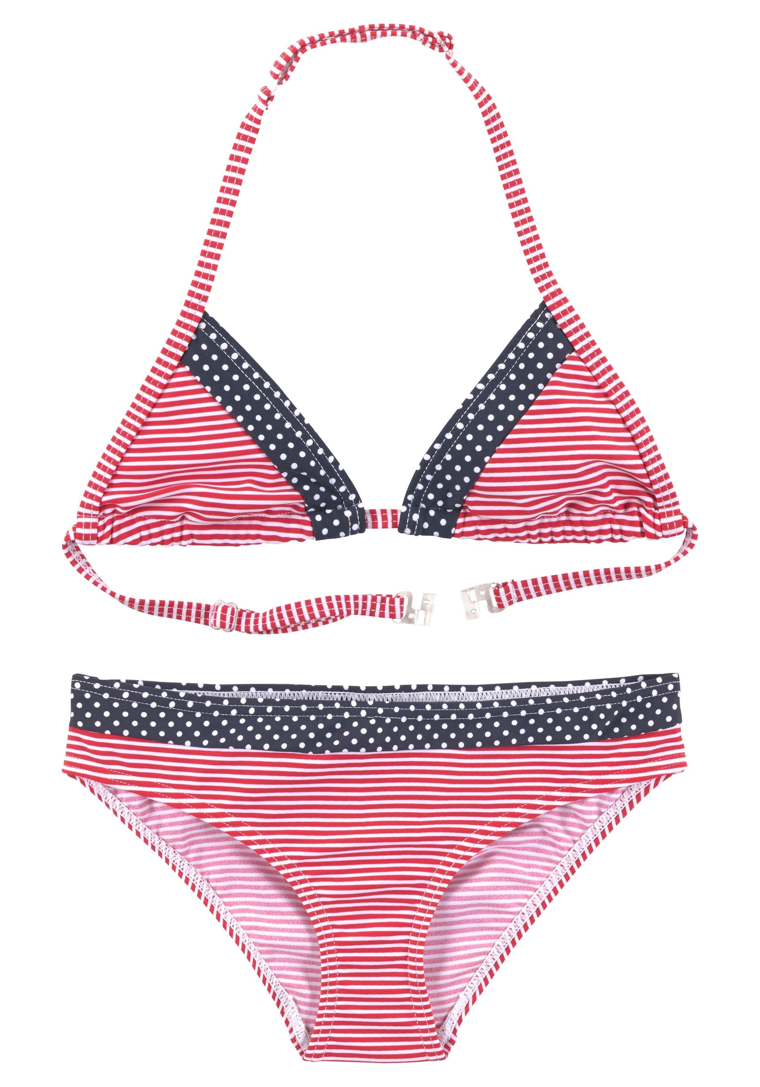 s.Oliver Beachwear s.Oliver RED LABEL Beachwear triangelbikini nu online kopen bij OTTO